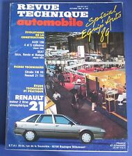 Revue technique  RTA 508 Renault 21 moteur 2 litres atmo
