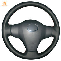 Leather Steering Wheel Cover for Toyota RAV4 Vios Yaris Scion XB 2008 #FT25