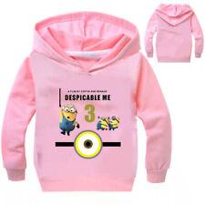 Minions Hoodie Parent-Children Hoody Long Sleeve Sweatshirt Hoody Kid Pullover