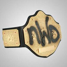 WWE WCW NWO World Big Gold Championship Wrestling Title Replica Belt 2mm