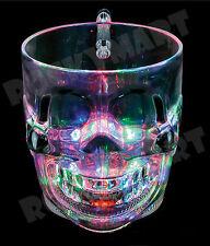 16oz Light Up SKULL MUG CUP Halloween RM4301