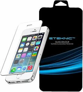 X2 Screen Protector For Apple iPhone SE 5s 5 5c Tempered Glass Film ETEKNIC