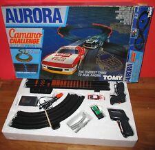 AURORA AFX CAMARO Challenge RaceTrack Turbo Cars 1983 WORKS EXCELLENT