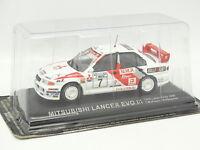Ixo Presse Rally 1/43 - Mitsubishi Lancer Evo III 1000 Lakes 1996