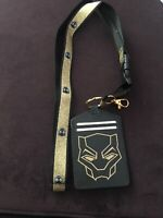 Marvel Black Panther  Pattern Lanyard and ID Holder