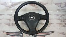 GENUINE MAZDA 3 1.6 PETROL MULTIFUNCTION STEERING WHEEL 03-09