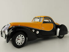 Peugeot 302 Darl'mat Coupe' 1937 Black & Yellow 1 18 Model Norev