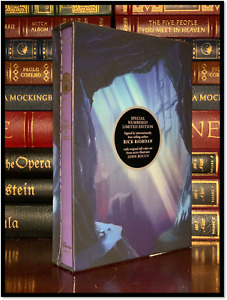 Tower Of Nero ✍SIGNED✍ by RICK RIORDAN New LImited Hardback 1st Edition Print