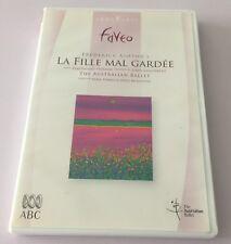 DVD CLASSIQUE DANSE THE AUSTRALIAN BALLET LA FILLE MAL GARDEE FREDERICK ASHTON'S