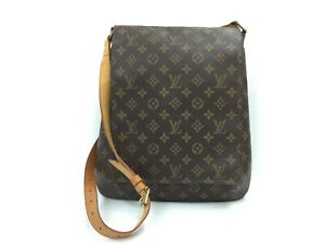 Auth Louis Vuitton Vintage Monogram Musette Shoulder Bag 0L100050n""