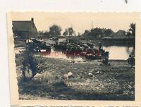 Foto, Panzerabwehr Abt. 20, Flussüberquerung in Polen (N)1846
