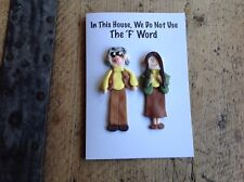the league of gentlemen Card Val And Harvey Denton Handmade Greetings Birthday