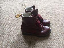 Dr Martens Serena Burgundy Fur Lined Boots Women's - Size UK 5