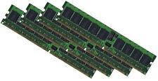 4x 4gb 16gb ddr2 memoria RAM per DELL PowerEdge 6800 6850 400 MHZ ECC REG