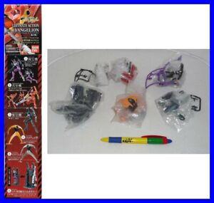 Set 5 Figure Evangelion Ultimate Action Part 2 BANDAI Eva 01 02 Figures Gashapon