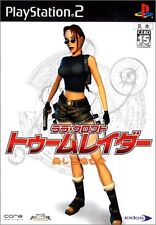 Used PS2 Lara Croft - Tomb Raider: The Angel of Darkness Japan Import