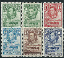 k273) Bechuanaland. 1938/52. MM. Farming. Small Collection. Cat £30+