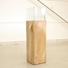 IMPRESSIONEN LIVING Bodenwindlicht Woody Klein Höhe ca. 80 cm