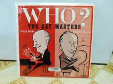 The Key Masters Franke Denke Everett Nourse Autographed Who? LP  Record EX SL NM