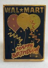 Vintage WalMart Pin Tie Tack Collectible Happy Birthday FREE SHIPPING