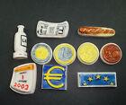 LOT SERIE DE 10 FEVES DIFFERENTES L'EURO EUROPE
