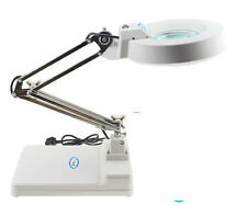 220V 10X LED lamp magnifier Desk reading electronic maintenance inspection