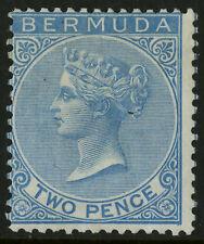 Bermuda  1865-74  Scott #  2a  Mint Hinged