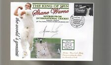 SHANE WARNE THE KING OF SPIN FINAL TEST CRICKET COV 10