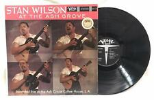 Stan Wilson At the Ash Grove LP Stereo Verve 1959 World Folk