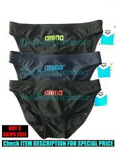 Arena AST18102 Men's Low-Rise Competition Swimwear Speedo Bikini Narrow Sides