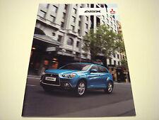 Mitsubishi . ASX . Mitsubishi ASX . July 2010 Sales Brochure