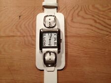 Nuevo - Reloj Watch Montre EXACTO de Sra. de acero - White Dial - Quartz - New