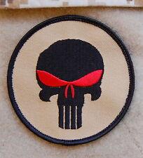 DEVGRU AOR1 Punisher Skull Morale Patch Black Zero Dark Thirty NSWDG MOH Hook