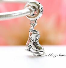 Authentic Pandora Ice Skate Dangle Sterling Silver Charm 791025