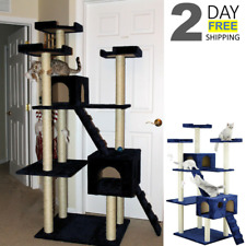 """Modern Cat Tree Climbers For Large cats Scratch Tower Condo Scratching Post 72"""""""