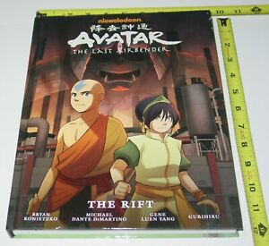 AVATAR Last Airbender The Rift Hardcover Graphic Novel Dark Horse Comic Book