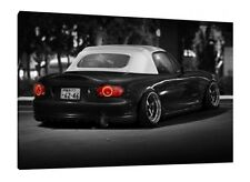 MK2 Mazda MX-5 - 30x20 Inch Canvas Art Framed Picture Print
