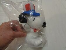 Collectible METLIFE Official SNOOPY USA Political Officer PLUSH PEANUTS Toy NIB