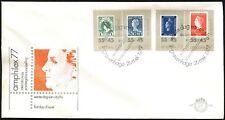 Netherlands 1977 Amphilex 77 Stamp Exhibition FDC #C44209