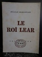 El Real Lear William Shakespeare Maurice Clavel 1967 Artbook By Pn