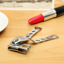 Stainless Steel Nail Clipper Safety Cutter with Long Handle Manicure Trimmer