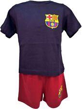 FC Barcelona Official Football Boys Short Pyjamas Age 3-4 Years