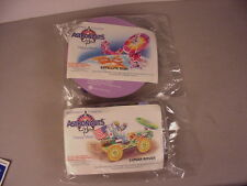 1991 McDonald's 2 Young Astronauts Space toys Model kits MIP Happy Meal