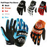 Cycling Gloves Motorbike Motocross MTB Dirtpaw Full Finger Bike Racing Enduro UK