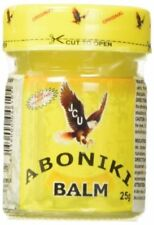 Original Aboniki Balm 25g for Arthritis,Rheumatism,Cold,Bronchitis (Pack of 5)
