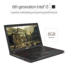 "NEW ASUS 15.6"" Gaming Laptop GTX 960M i5 6300HQ 8GB DDR4 512GB SSD"