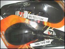 Fr7469/7470 Coppia specchi FAR neri Ovali Kymco Xciting 300-500