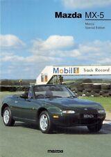 Mazda MX-5 Monza 1.6i Limited Edition 1997 UK Market Leaflet Sales Brochure