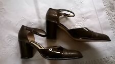 Carl Scarpa Italian Leather Ladies Shoes Size 39 ½