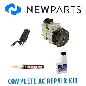 For Ford Contour Mercury Mystique Cougar A/C Repair Kit w/ Compressor & Clutch
